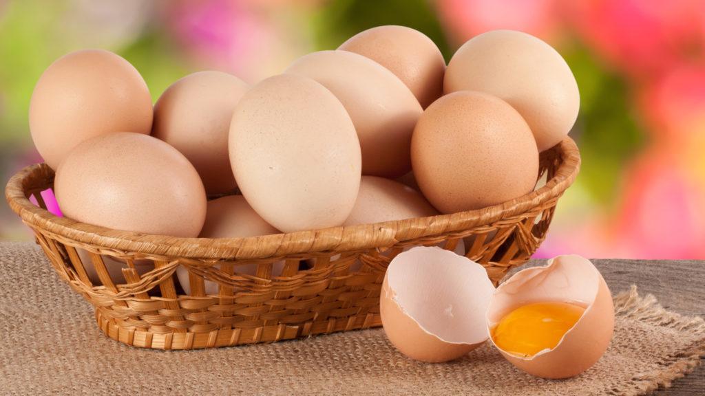 Fontes de proteínas - ovos